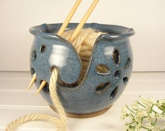 Yarn bowl, Knitting bowl, Yarn bowl Ceramic, Yarn bowl Crohet, Yarn Holder, Pottery Gift ideas