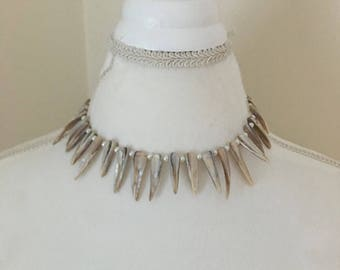Dragon fang necklace - SALE! 30% off