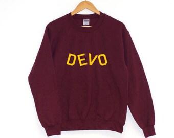 Devo |SWEATSHIRT JUMPER | Hipster Cara Delevigne
