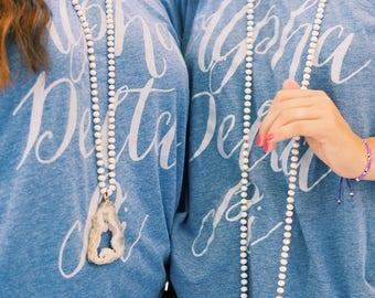 White Sparkle Necklace