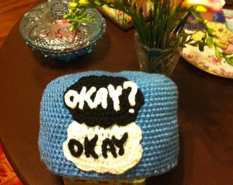 Fault In Our Stars Crochet Hat - Okay? Okay