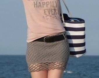 PATTERN  Mini Skirt / Pattern PDF - Instant Download / Detailed Instructions In English For Crochet Skirt