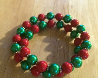 REDUCED PRICE!! Christmas bracelet