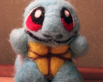 Needle - Felted Pokemon Squirtle