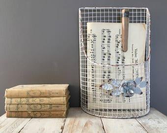 Display storage basket