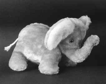 Sewing Pattern Make a Cute Baby Elephant Stuffed Animal Design from Fantasy Creations