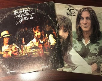 Set of 2 Loggins and Messina Vinyl Records (1970's)