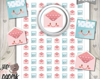 Mail Stickers, Planner Stickers, Delivery Stickers, Envelope Stickers, Post Stickers, Cute Stickers, Mail, Printable Stickers