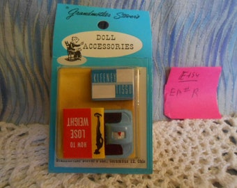 """Grandmother Stover Miniatures - """"How To LoseWeight"""" - Sealed   EM #R"""