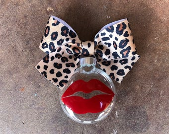 Lipstick Ornament - Leopard - Kiss - Lipsense