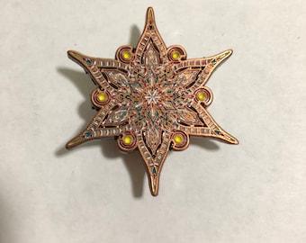 Z&P Copper Mandala