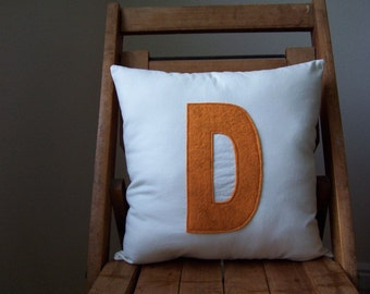 Personalized Initial Pillow