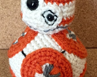 BB-8 Star Wars Crochet Toy Doll