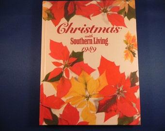 Vintage Christmas Craft/Cookbook /Home Decorating Southern Living 1989