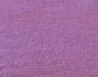 KNIT Fabric: Lilac Cotton Lycra knit