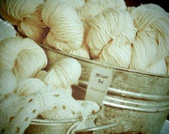 Great Photo For A Knitter  - Wall Decor -  Craft Room Decor  - Knitting Room Art  -  Sweet Home Decor - Cream Yarn  Photograph