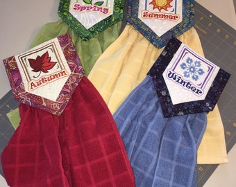 Four Seasons Hanging Towels