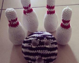 Bowling Crochet Toy
