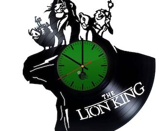The Lion King Vinyl Record Wall Clock Home Decor