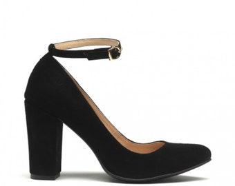 Giulia - Babies - black leather