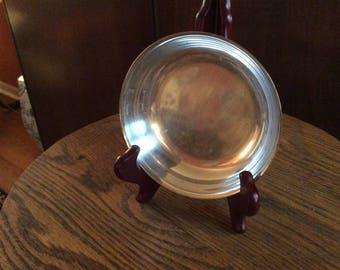 Wm Rogers & Son Silver Plate Dish