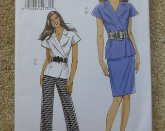 Vogue pattern V8564 Very easy Vogue Size 8-10-12-14-16