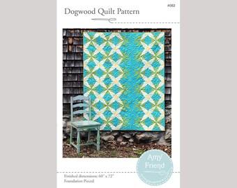 Dogwood Quilt Pattern --PDF