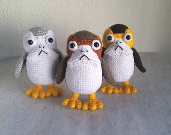 PORG AMIGURUMI PATTERN pdf crochet