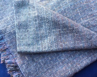 Handwoven Fabric or Lovey, Seasilk, Soy