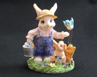 Farmer Rabbit Figurine