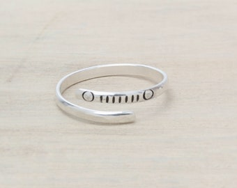 Sterling Silver Ring - Jeep Inspired Grill Design