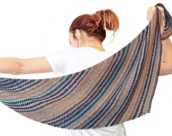CROCHET PATTERN - Harmony Shawl - Instant Download (PDF)