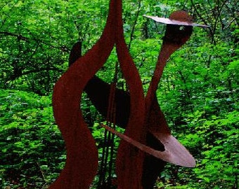 Ned, Our Eight-Foot Musical Outdoor Sculpture