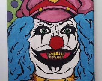 Rock and Roll Clown Painting- Metalocalypse Fan Art