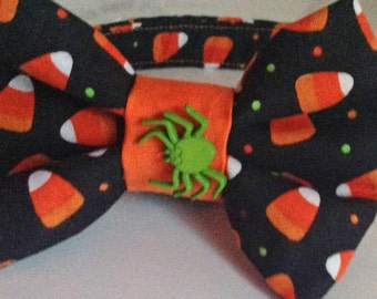 Halloween Candy Corn Bow Tie for Male Dog or Cat