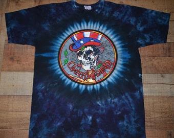 VINTAGE 1991 Grateful Dead tie dye t-shirt