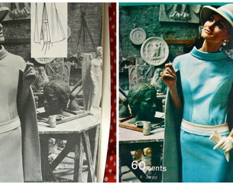 Vintage 1968  Modes Royale  PATTERN BOOK Catalog Magazine  for Spring and Summer - 34 Pages of the most Delicious Patterns