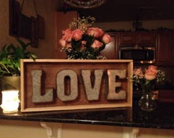WORD Sign - LOVE