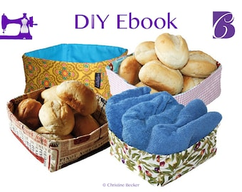 PDF Ebook Tutorial Fabric Basket