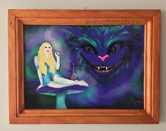 Alice in Wonderland A2 Poster // gifts for him // gifts for her // Disney gifts