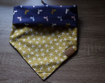 Reversible Dog Bandana/ HARU