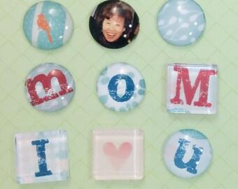 DIY Craft Kit: Glass Marble Magnet - Petite