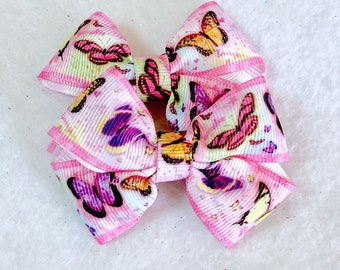 Girly Sweet Butterfly Bow Set