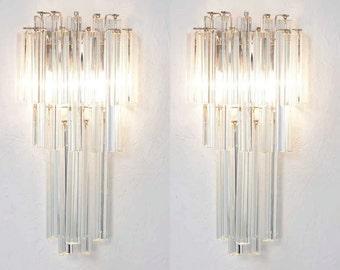 murano wall lamp sconce - mid century