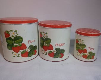 Vintage Kitchen Cannisters