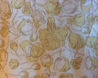 Cotton twill fabric from Liberty of London, Francesca