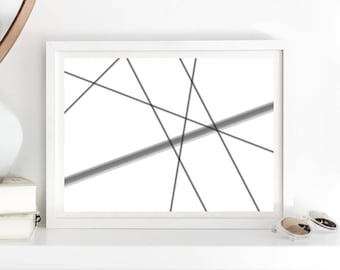 geometric poster print, affiches scandinave, scandinavian print, minimalist poster print, scandinavian poster, printable, downloadable print