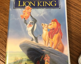 Vintage 1994 The Lion King Movie VHS A Walt Disney Masterpiece