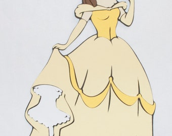 Belle in Ball Gown - Disney's Beauty and the Beast