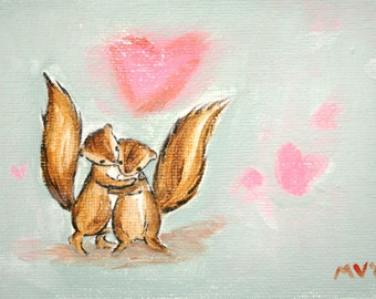 Valentine art, See the Love PRINT, kids art, baby decor, valentines day, housewares